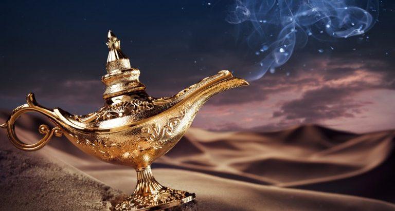 O Gênio da Lâmpada - Aladim - Despertar da consciência - passarpelasbarreiras