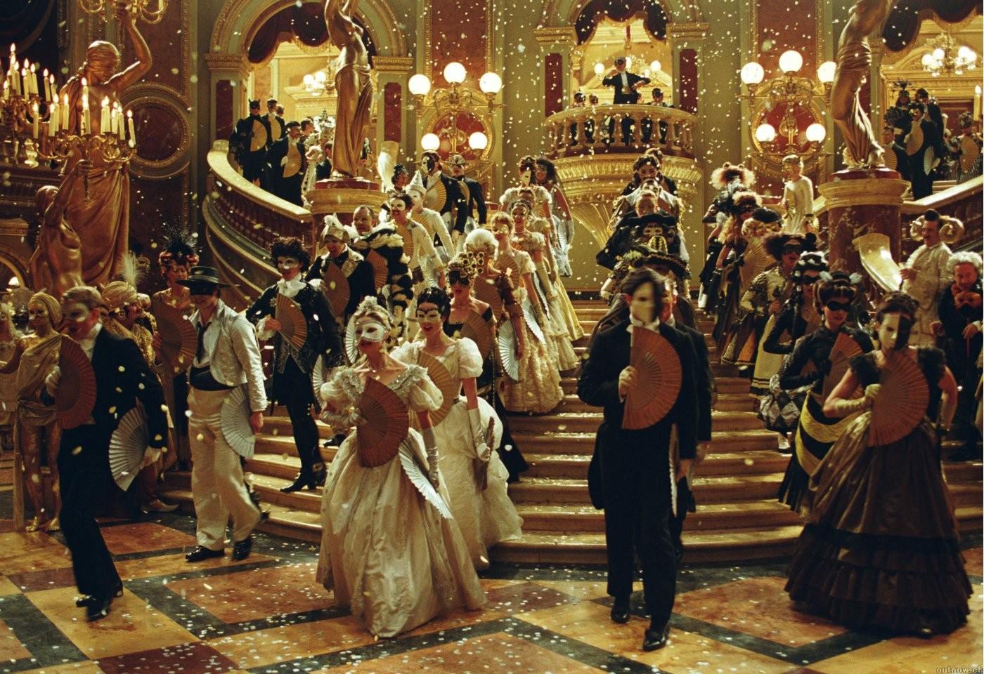 Fantasma da Opera - Baile de Máscaras - Passarpelasbarreiras