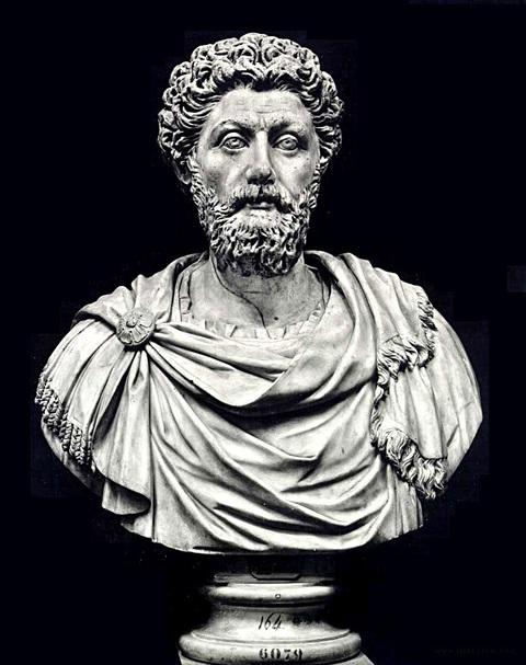 Marco Aurélio -filósofo -passarpelasbarreiras